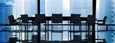 Board Room Urban Skyline