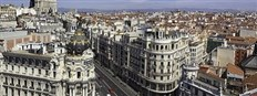 Spain - Madrid Cityscape