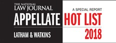 National Law Journal Appellate Hot List 2018