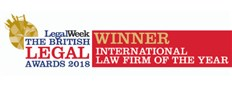 International Law Firm of the Year