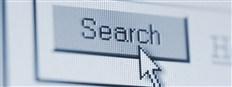 Search button on a computer screen